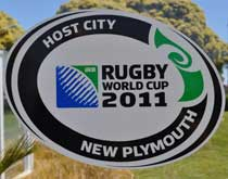 rugby host city new plymouth